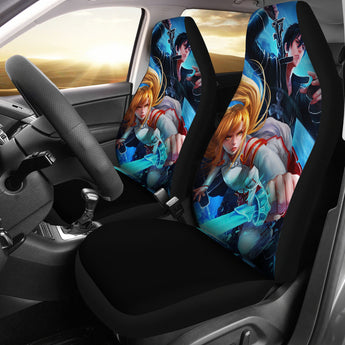 Kirito Asuna Car Seat Covers