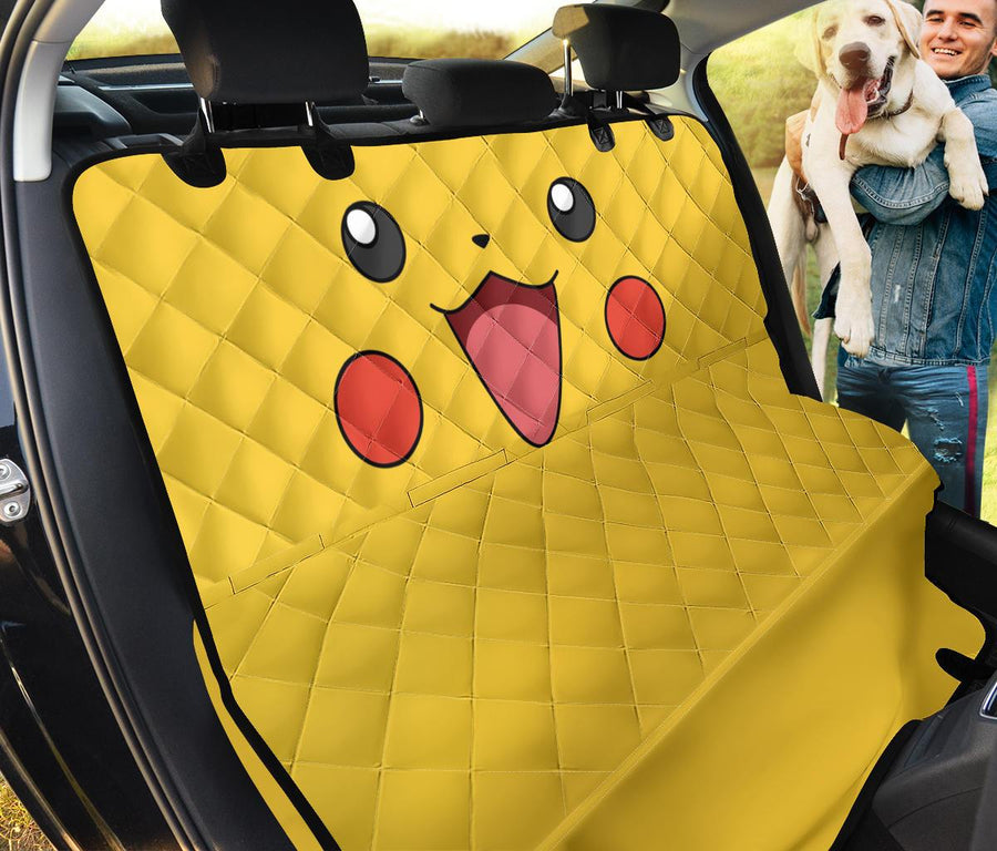 pokemon pikachu pet seat cover