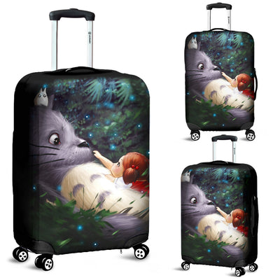 Totoro Relax Luggage Covers