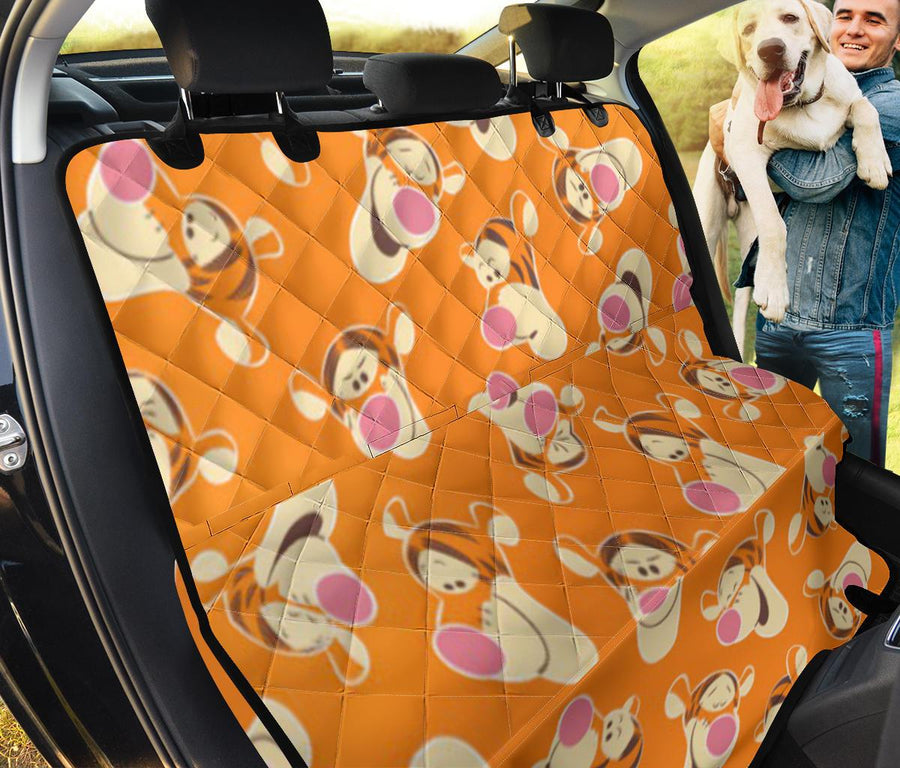 Winnie The Pooh Tigger Face Pet Seat Cover