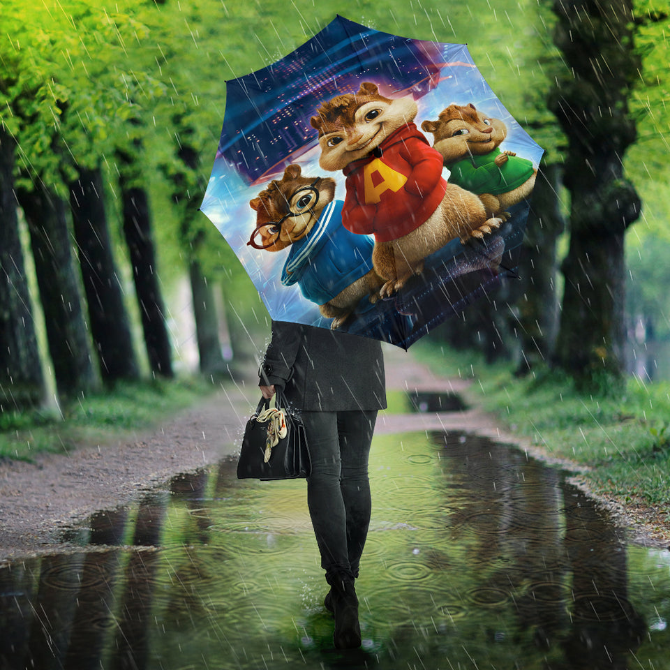 Alvin And The Chipmunks Umbrella