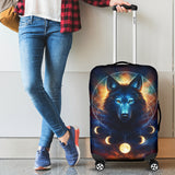 Wolf Moon Luggage Covers 1