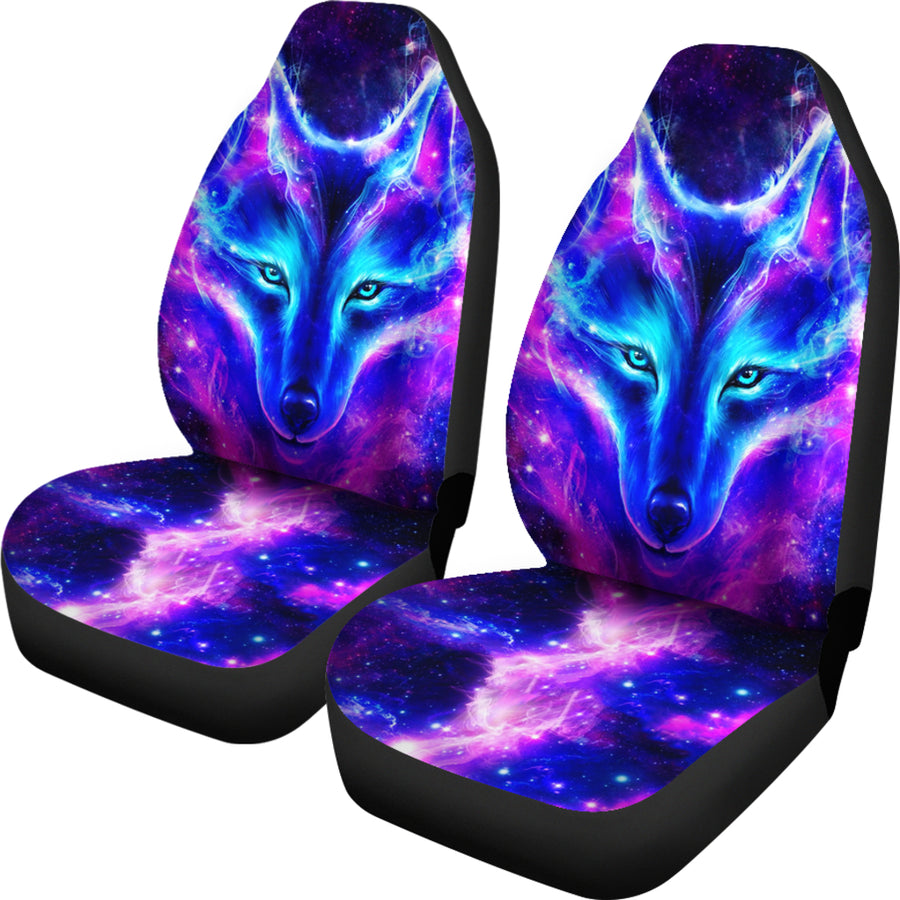Wolf Galaxy Car Seat Covers - Amazing Best Gift Idea