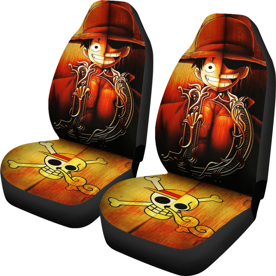 Luffy One Piece Car Seat Covers - Amazing Best Gift Idea