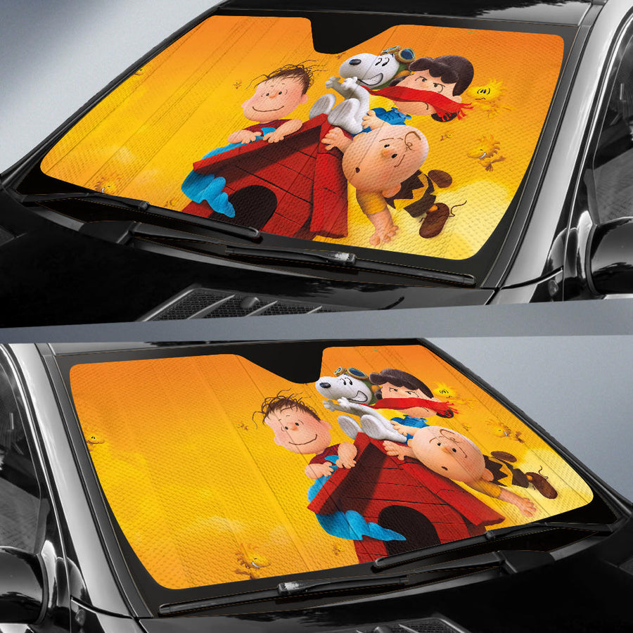 The Peanuts Auto Sun Shades