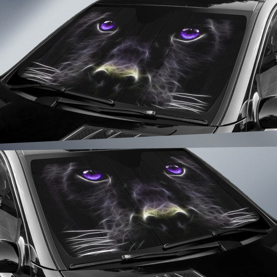 Black Panther Face Car Sun Shades amazing best gift ideas 2021