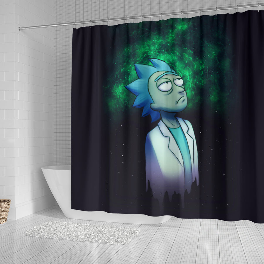 Rick and Morty Shower Curtain 1