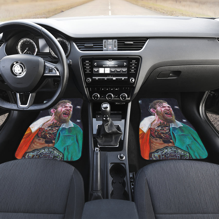 Conor McGregor ufc fighter 2021 22 car mats