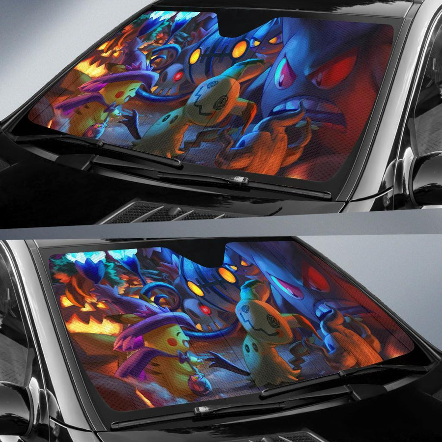 Pokemon Halloween Auto Sun Shades amazing best gift ideas 2021