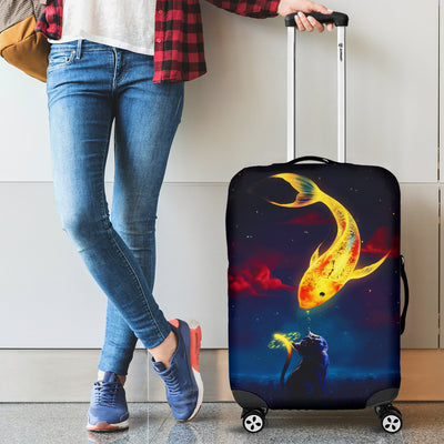Cat Fish 2020 Luggage Covers