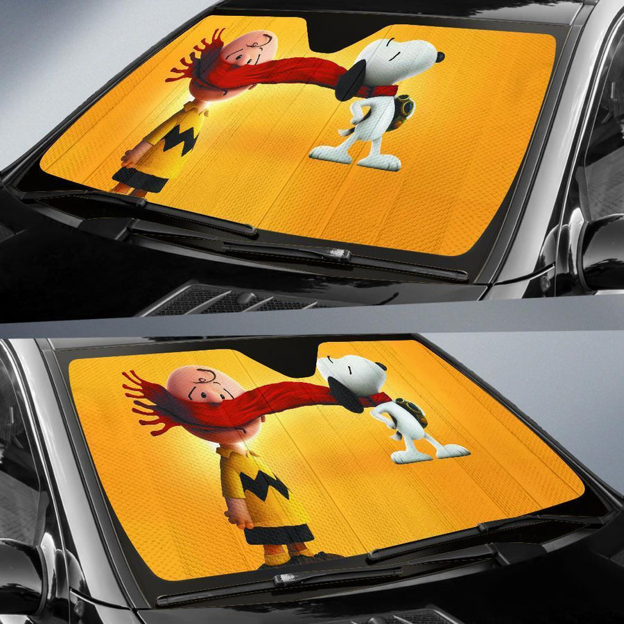 Snoopy auto sun shades amazing best gift ideas 2021