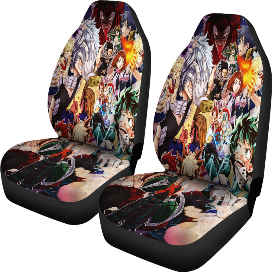 Boku No Hero Academia Car Seat Covers - Amazing Best Gift Idea