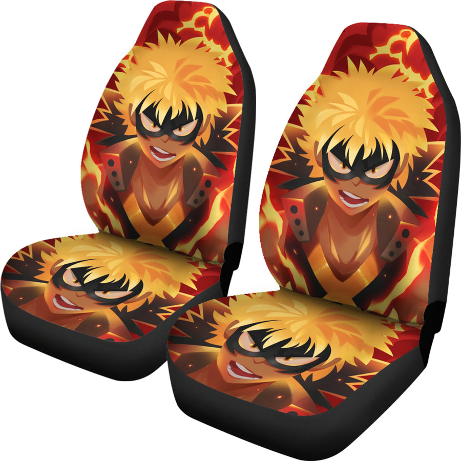 Declan Luke Bakugou Car Seat Covers