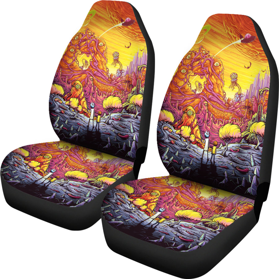 Rick And Morty 2021 Car Seat Covers - Amazing Best Gift Idea