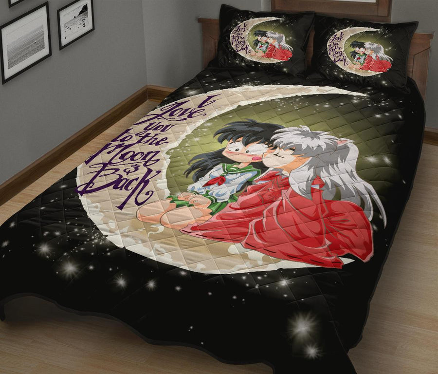 Inuyasha To The Moon Quilt Bed Sets