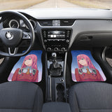 Zero Two Darling In The Franxx Front And Back Car Mats 2