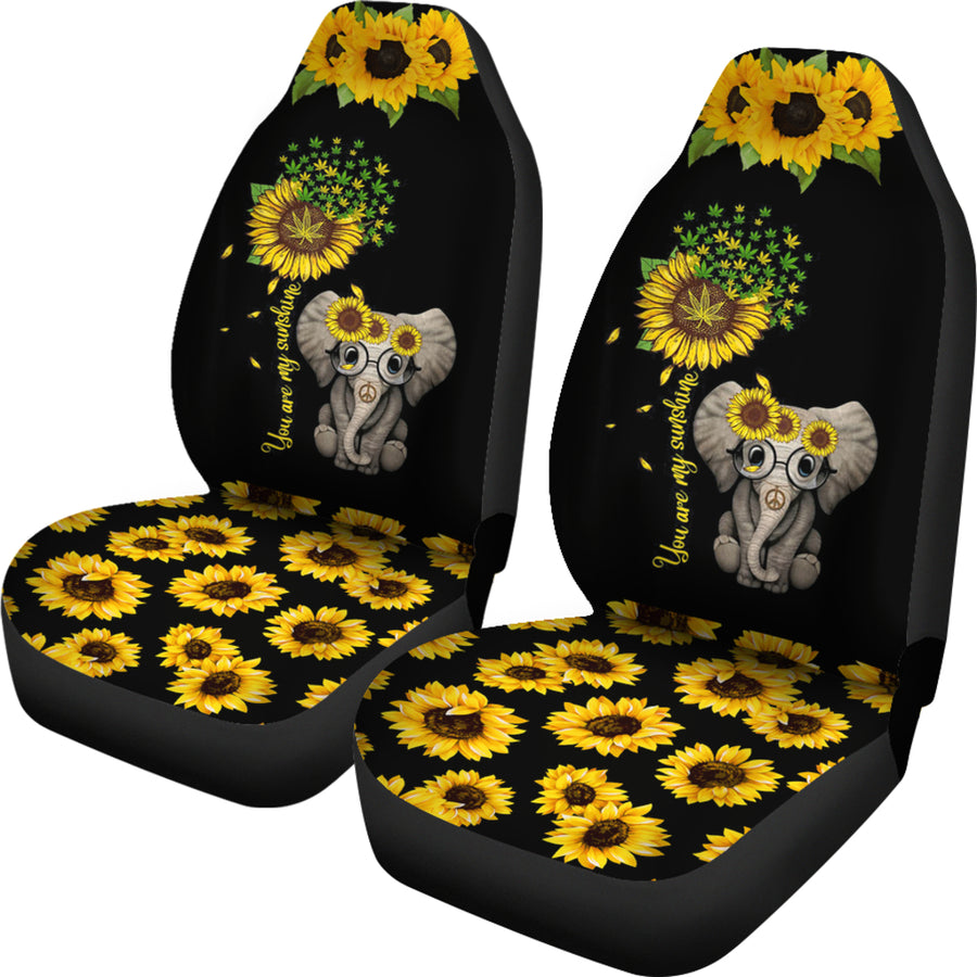 Sunflower Elephant Seat Covers