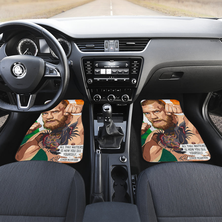Conor McGregor ufc fighter 2021 21 car mats