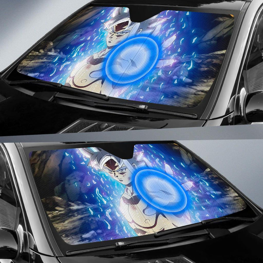 Ultra Instinct Goku Dragon Ball Super 5K Car Sun Shade amazing best gift ideas 2020
