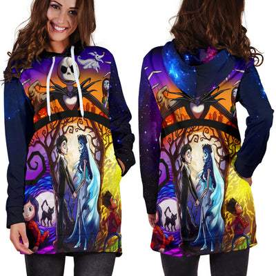Nightmare Before Chrismas Wedding Hoodie Dress