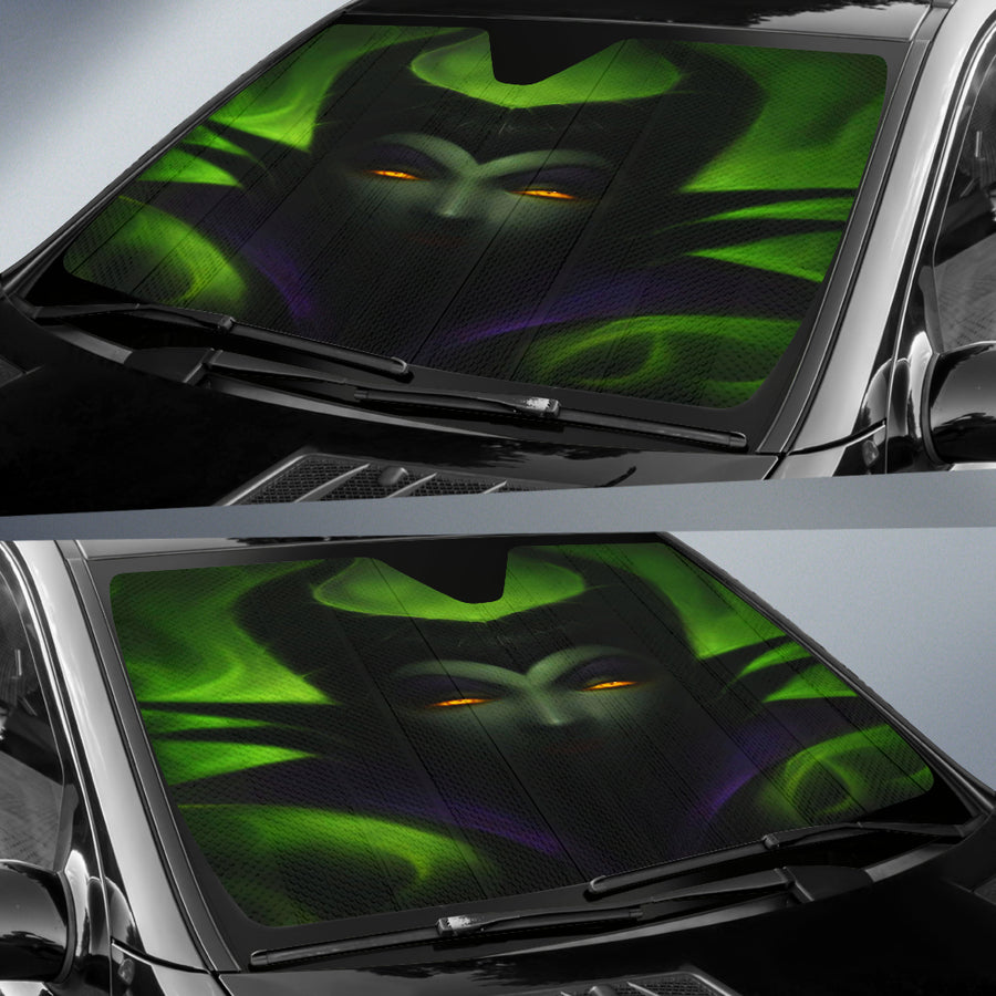Maleficent Auto Sun Shade