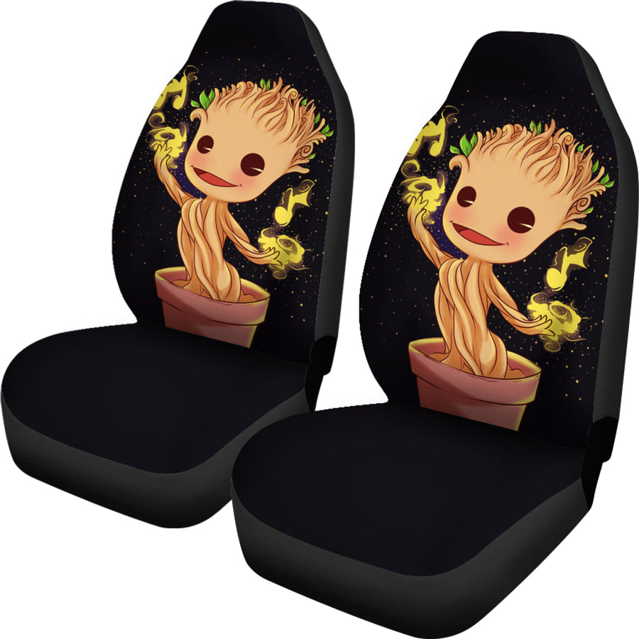 Baby Groot Car Seat Covers 2 - Amazing Best Gift Idea