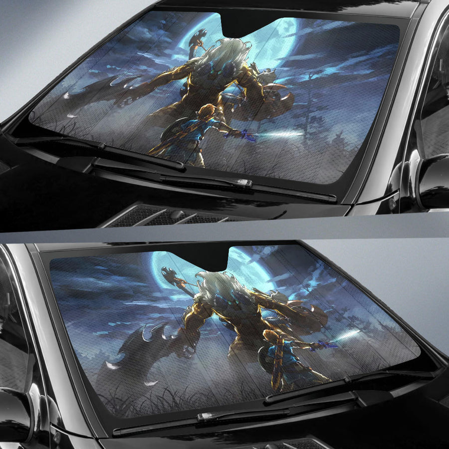 The Master Trial Legend Of Zelda Sun Shade