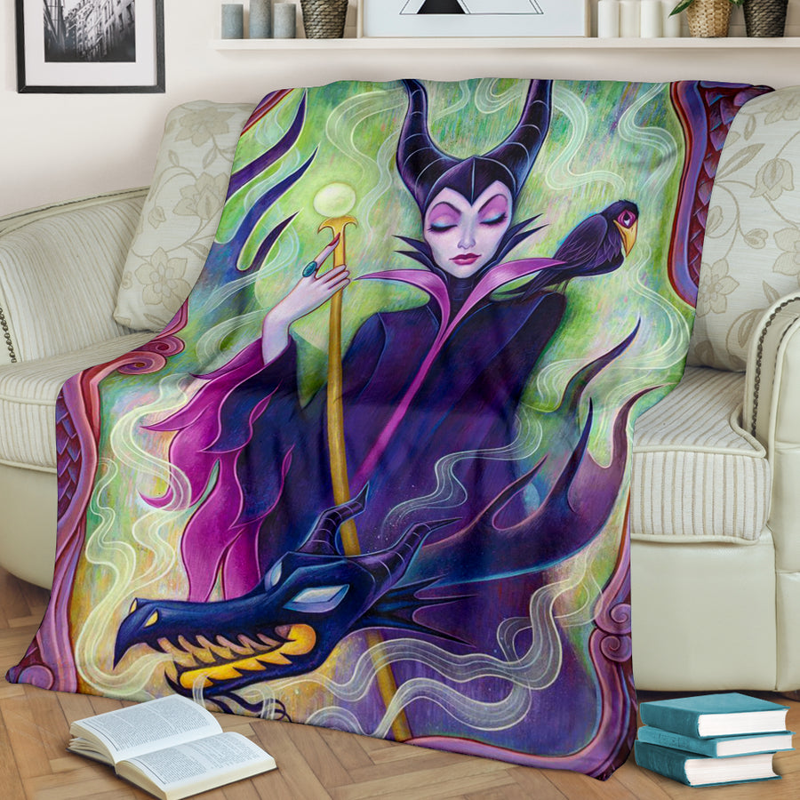Maleficent Premium Blanket