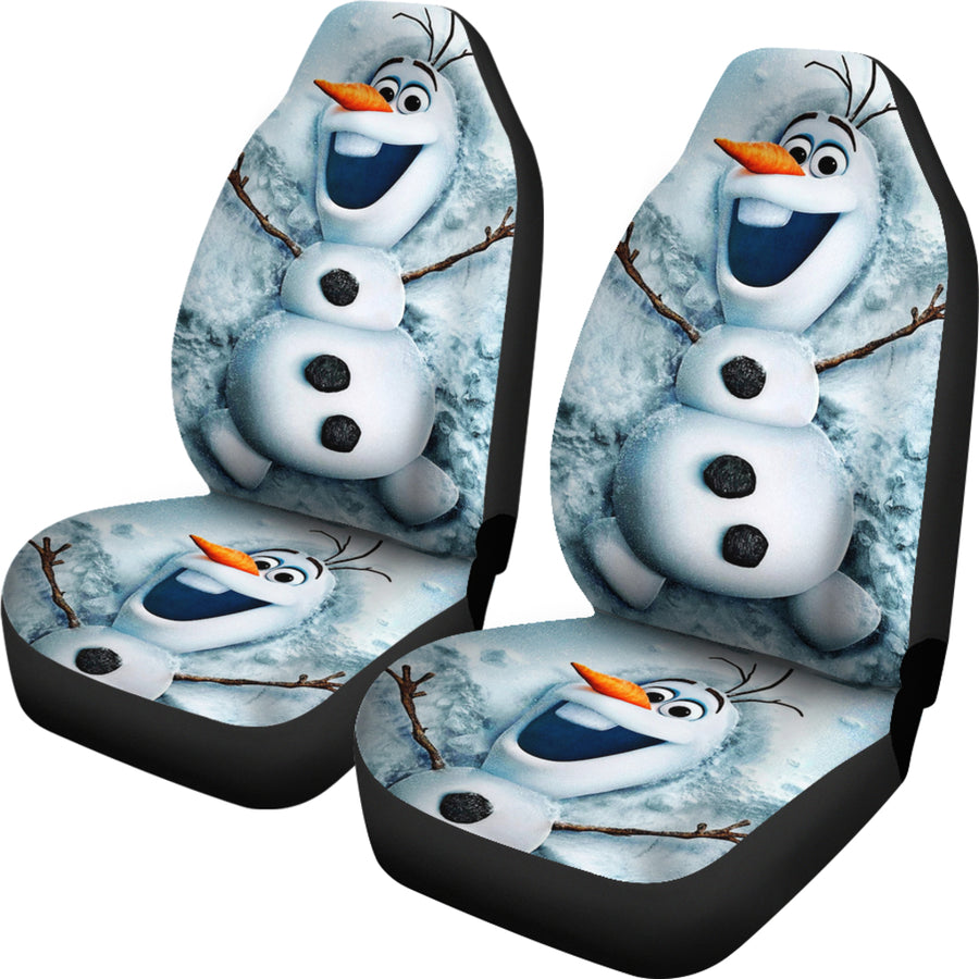 Olaf Snowman Car Seat Covers - Amazing Best Gift Idea