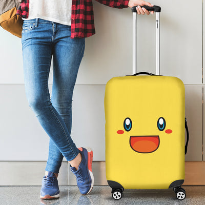 Smiley Luggage Covers