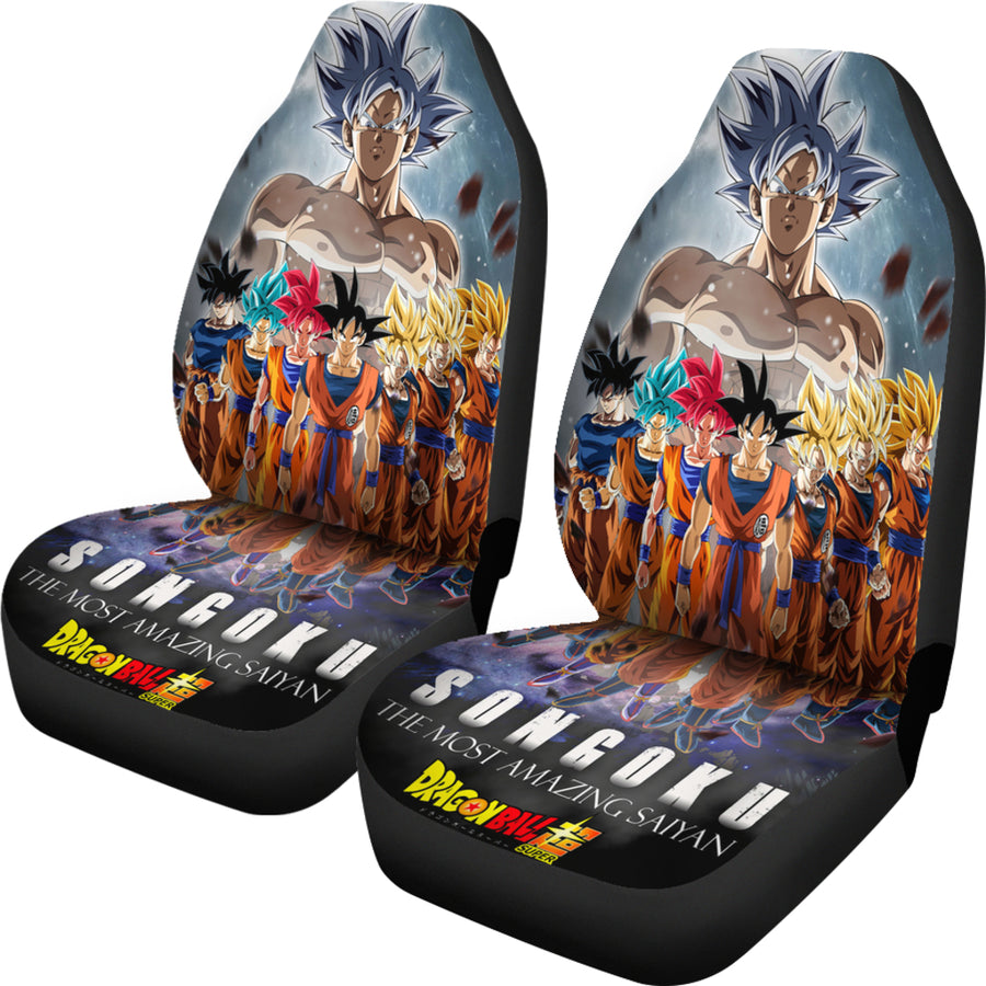 Son Goku 2019 Car Seat Covers