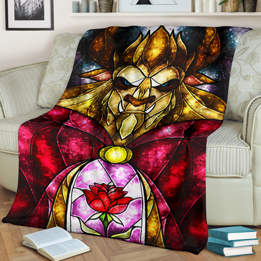 Beauty And The Beast Premium Blanket 2