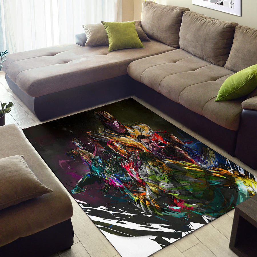 Avengers 4 End Game Area Rug
