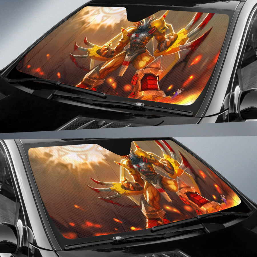 Digimon Wargreymon Sun Shade