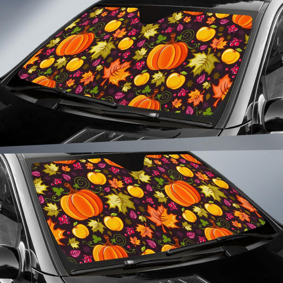 Halloween Pumpkin Auto Sun Shades amazing best gift ideas 2021