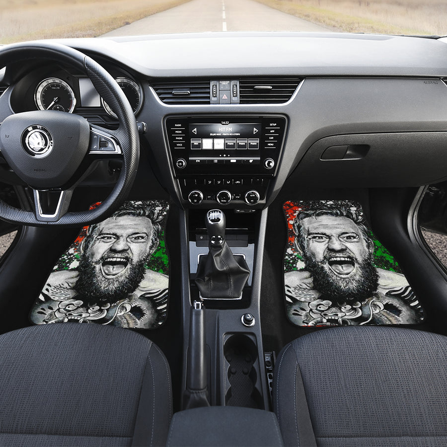 Conor McGregor ufc fighter 2021 31 car mats