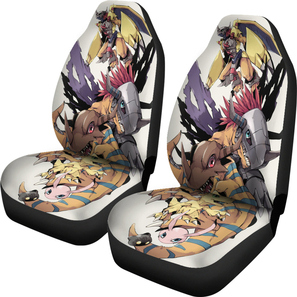 wargreymon-evolution-car-seat-covers