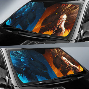 A Song Ice And Fire Car Sun Shades