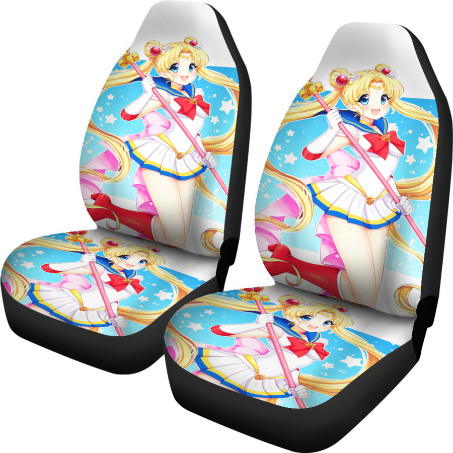 Sailor Moon Car Seat Covers 4 - Amazing Best Gift Idea