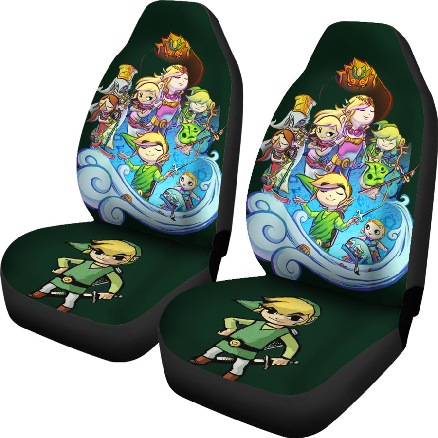 Zelda Link Car Seat Covers - Amazing Best Gift Idea