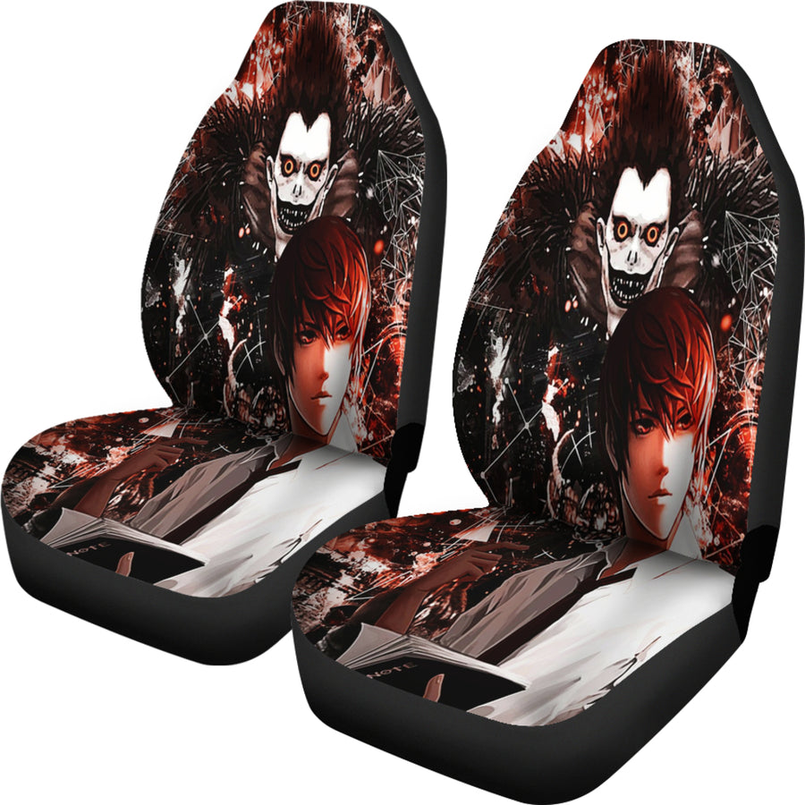 Death Note Car Seat Covers 2 - Amazing Best Gift Idea