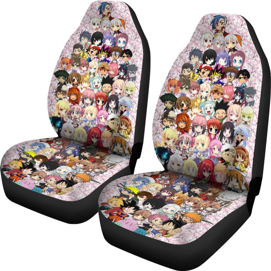 Anime Chibi 2020 Car Seat Covers