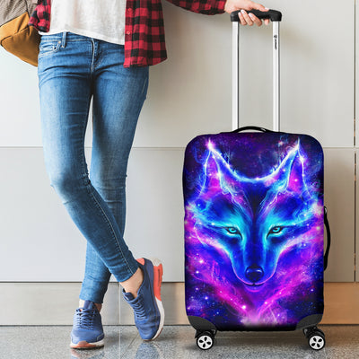 Wolf Galaxy Luggage Covers