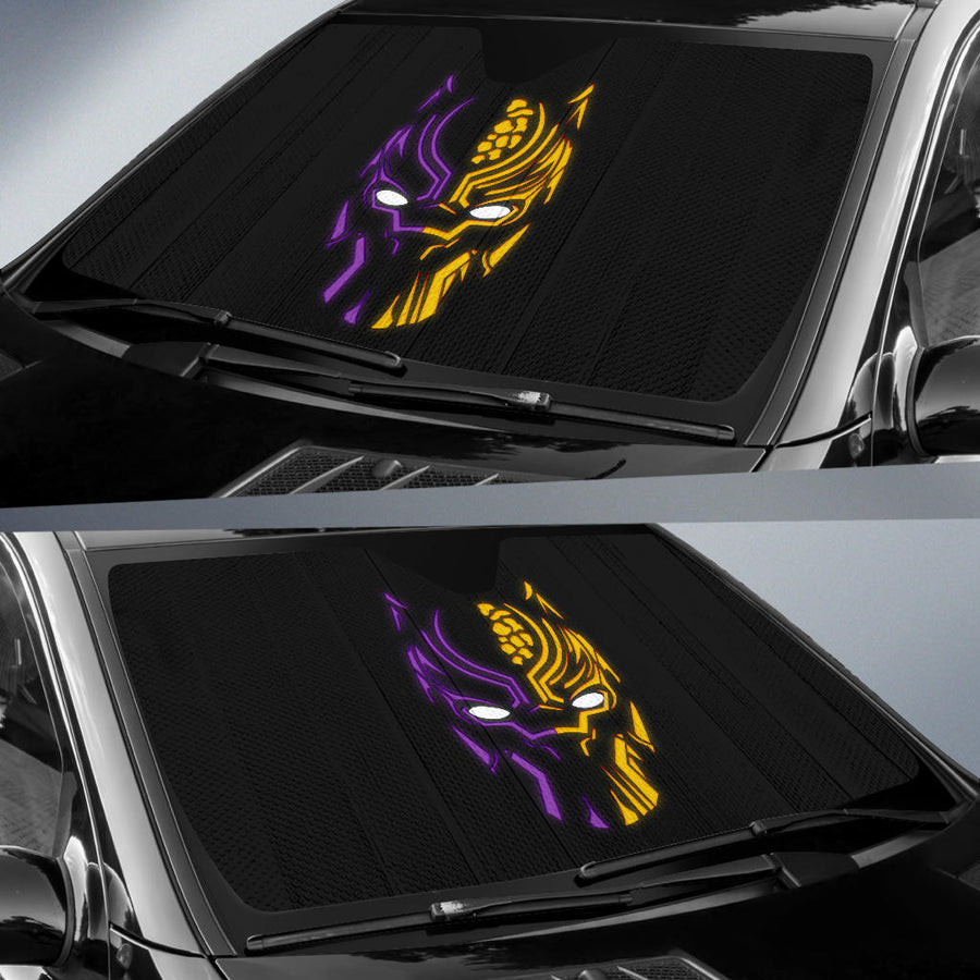Black Panther Car Sun Shades amazing best gift ideas 2021