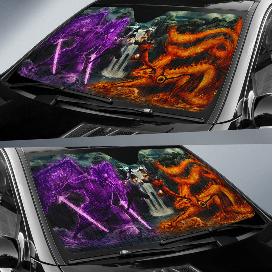 Naruto Vs Sasuke Auto Sun Shades amazing best gift ideas 2020