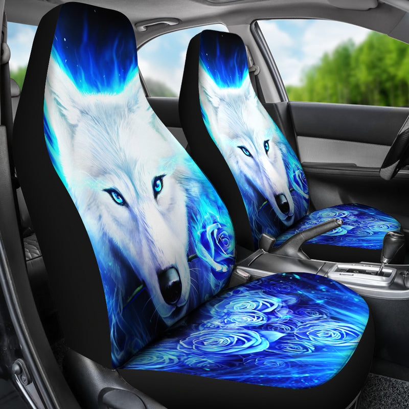 Wolf Car Seat Covers 3