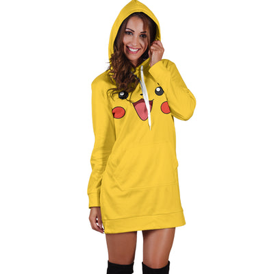 Pikachu Hoodie Dress - 99Shirt