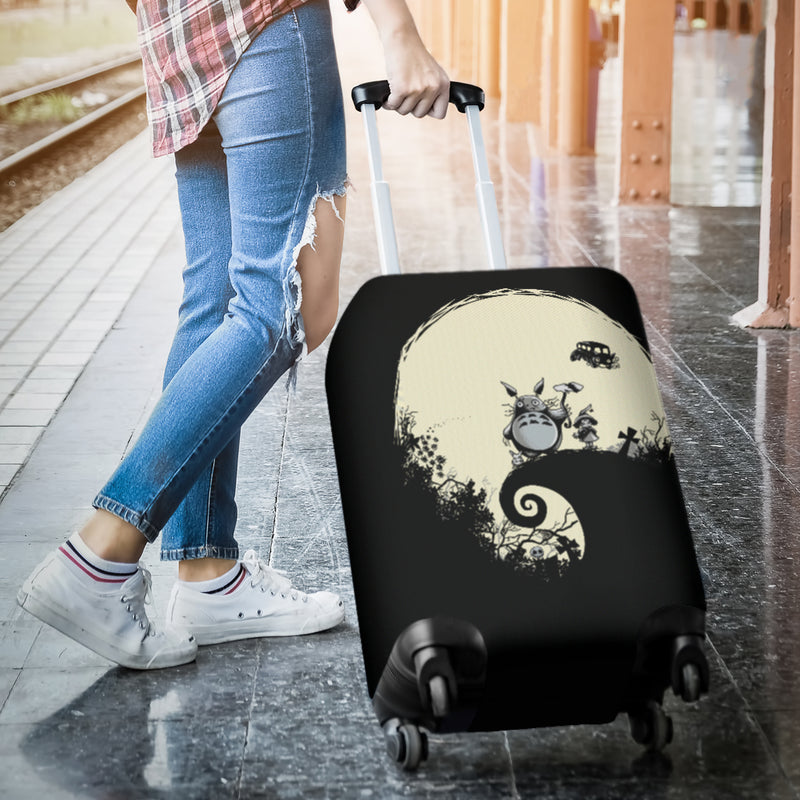 Totoro Nightmare Luggage Covers