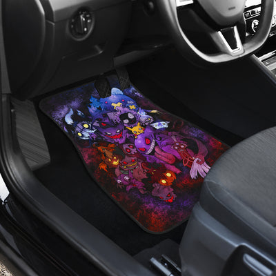 Pokemon Ghost Front And Back Car Mats