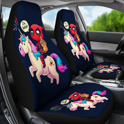 Deadpool Car Seat Covers 4